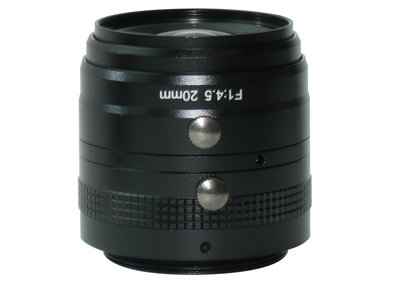 LM42-29MP-20MM-F4.5-30-ND1, LENS M42 29MP 20MM F4.5 ImageCircle=30mm NON DISTORTION