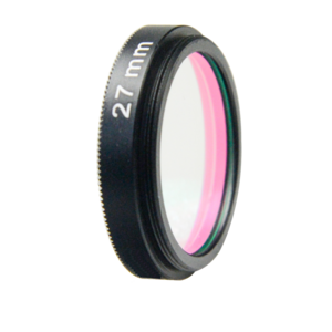 UV IRCUT optical lens filter for machine vision camera