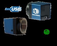 USB2 Camera with OnSemi MT9T001 sensor, model MER-310-12UC-L